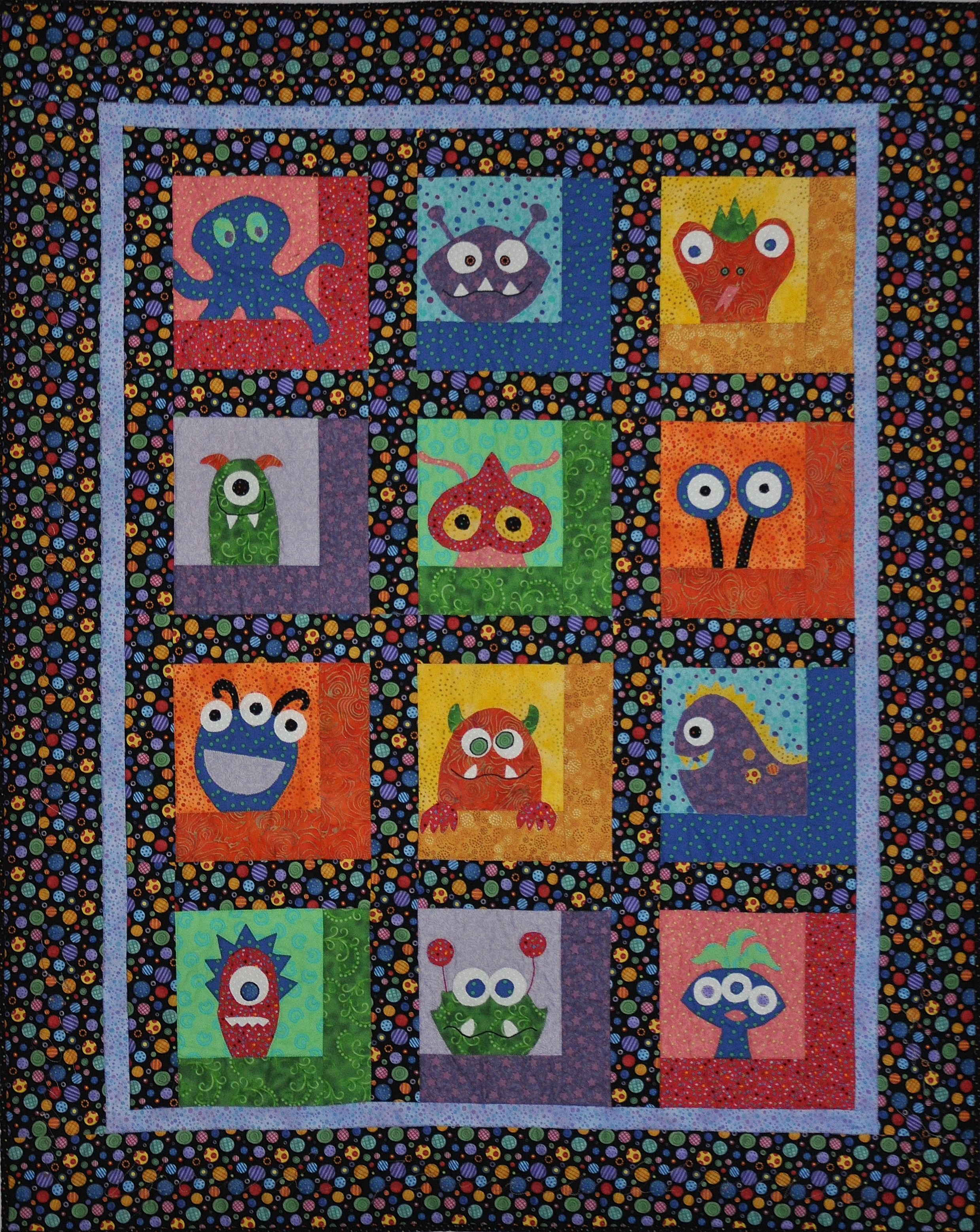 38 Best Monster Quilt Images On Pinterest